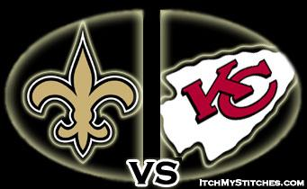 Saints vs KC