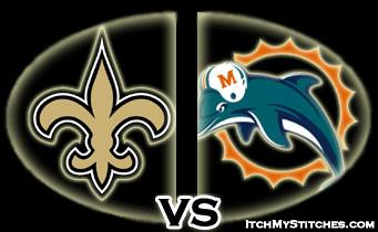 Saints vs Miami